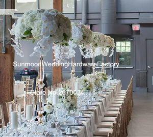 موقف الاكريليك فقط) أعمدة الزفاف تصميم الكريستال عمود جديد mandap الزفاف تستخدم زخرفة الزفاف