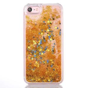 Floating Glitter Star Running غطاء حماية بملمس رقيق لجهاز Samsung S8 S8 بلس Note 5 J2 PRIME G532 J3 PRIME Metropcs