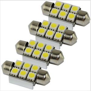 4 stück 36mm C5W C10W CANBUS KEINE Fehler Festoon 6 led 5050 smd Auto Kennzeichenbeleuchtung Auto gehäuse Innenkuppel lampen Leseleuchten