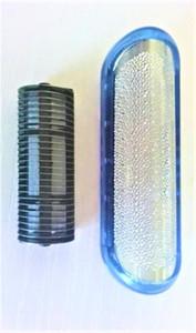 Écran bleu extérieur de rasoir de rasoir + lame pour Braun 1735 1775 1715 140S-1 150S-1 170S-1 nouveau coupeur de barbe de rasoir