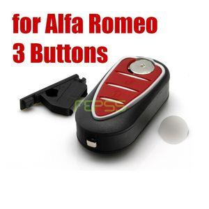 Новый случай замены складной флип дистанционного ключа оболочки для Alfa Romeo Mito Giulietta 159 GTA