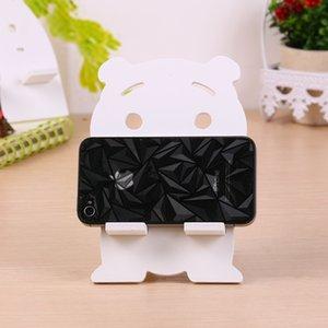 Candy Color Fashion Cute Cutoon Bear Shape Universal Cell Phone Pad Escritorio Soporte de escritorio para Ipad para IPhone7 7plus y todos los teléfonos