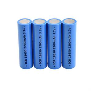 Batería recargable completa 18650 2200mAh Baterías recargables superiores 2000mAh 2200mAh 2600mAh para el uso del banco del poder del auricular