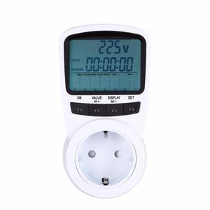 Freeshipping Electronic Energy LCD Energy Monitor Plug-in Electricity Measuring instrument US UK EU AU Plug