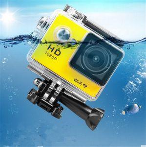 2017 W9 2 polegada Tela Wifi Versão Action Camera 30 M À Prova D 'Água 1080 P FHD Esportes Radicais Mini DV Câmera De Vídeo De Mergulho