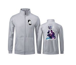 free shipping s-5xl New Men 039 fashion Letter coat Male leisure pure color Crooks and Castles casual hoodie