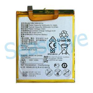 1x 3450mAh / 13.18 Wh batteria HB416683ECW 3.82VDC sostituzione Li-Polimero per Huawei Ascend Nexus 6P Angler H1511 H1512