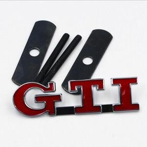 Car Styling 3D Logo GTR in metallo Cappuccio anteriore Griglia Badge Griglia Emblema Adesivi automatici Accessori per decalcomanie auto