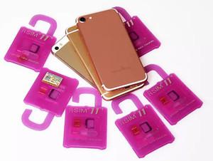 RSIM 11+ 11+ R sim RSIM11 + r + sim11 Plus entriegeln Karte für iPhone 7 und iphone 6 entriegelt IOS 10.x-7.x 4G CDMA GSM WCDMA SB AU SPRINT PK 10