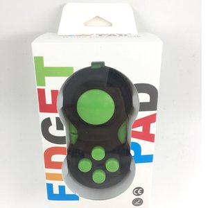 Neuheit Zappeln Pad Spielzeug der zweiten Generation Magic Fidget Cubes Griff Stressabbau für Angst Dekompression Spielzeug mit Kleinkasten