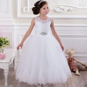 2019 Fashion NEW Halloween Easter Birthday party Flower Girl Dress Bridesmaid Wedding Communion Party Prom Princess Pageant