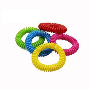 Противомоскитные браслеты ручной браслет телефон кольцо цепи анти-комаров браслет борьбы с вредителями браслет полосы KKA1935