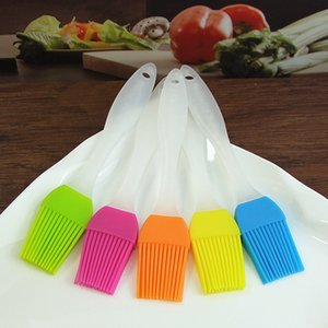 Pastry Brush Silicone BBQ Brushes Basting Brush Heat Resistant for Kitchen Grilling Camping