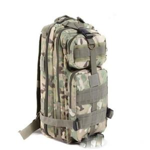9 اللون الرياضة outdoor التمويه حقيبة 3 وعاء العسكرية التكتيكية الظهر محمول رخوة الظهر التخييم الرحلات حقيبة TOPB1914 50 قطع