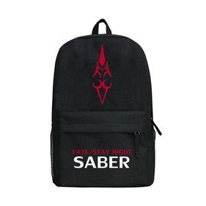 Manga Fate Zero Collection Zaino adolescenti maschi Ragazze Borsa a tracolla come Schoolbag modello multi Opzione Bookbag per voi