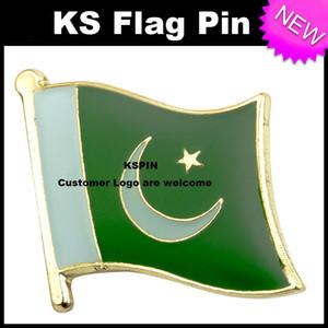 Distintivo 10pcs della bandiera del distintivo della bandierina del Pakistan molto trasporto libero KS-0025
