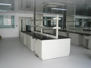 12 feet long central laboratory table lab workbench steel island bench