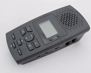 Livraison gratuite voix Téléphone enregistreur / support RJ9, RJ11 / pas besoin PC / peut enregistrer Venez et jouer le numéro de téléphone / un temps record