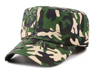 New Military Army Styles Männer Camo Camouflage Männer Frauen Unisex Baseball Hüte Jagd Baseball Cadet Casual Battle Caps für Männer