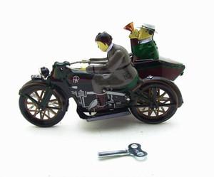 Karikatür Sarma-upTin Mototcycle, Demir üç tekerlekli, Yaratıcı Nostaljik Oyuncak, Ev Aksesuarları, Kid' Parti Doğum Günü Hediyeler, Toplama, Dekorasyon