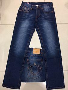 Free Shipping Good quality NEW hot Men's Robin Rock Revival Jeans Crystal Studs Denim Pants Designer Trousers Men's size 30-40