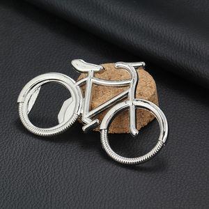 Bisiklet Bisiklet Metal Bira Şişe Açacağı anahtarlık anahtar yüzükler bisiklet sevgilisi bisikletçinin bisiklet için DHL için B ...