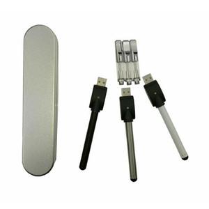 Cartuchos de vidro BUD caixa de kit de bateria de toque vaporizador cartuchos de caneta vape vaporizador cera vaporizador cera vape mod CE3 atomizador e cig kits