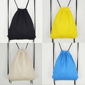 2017 чистый рюкзак хлопок белье шнурок сумки дорожные сумки симпатичные рюкзак дети школьная сумка симпатичные спортивная сумка плечи сумка