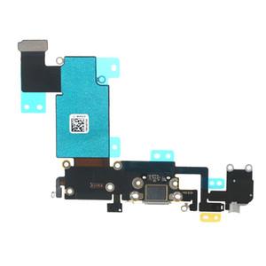 Cavo della flessione della porta di carico del caricatore del connettore del bacino del USB di 100PCS per il iPhone 6 6s 4.7inch 6 più 5.5inch DHL libero