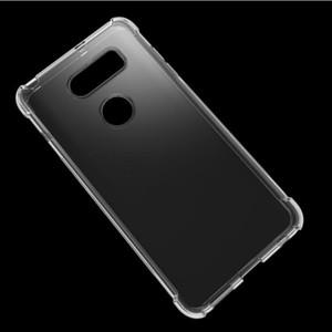 Pour LG G7 K30 V30 / V20 / G6 / K10 2018 / K8 2018 Aristo 2 / V35 THINQ Couverture Transparent Protection de la peau en silicone TPU Gel Soft Shell Case