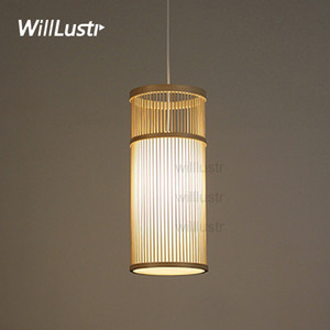 willlustr bambu kolye lamba ahşap süspansiyon hafif el yapımı aydınlatma doğal asılı otel restoran kafeterya bar lounge ışıkları