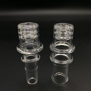 Quartz banger Enail Honey Bucket Prego Com Diamante Quartz Domeless Nails Dab Rig Para Fit 20mm Aquecimento Coil Club Enail Banger