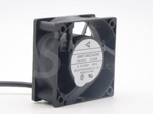 Brand New Melco MMF-06D24DM RC4 For Mitsubishi inverter fan 6025 60m 6cm 24V 0.05A server cooling fan