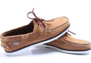 Hombres al por mayor de gamuza top sider mocasines barco zapatos para hombre azul gamuza barco mocasines hechos a mano zapatos de cuero zapatos casuales tamaño grande