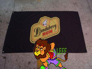 Bandeira do bundaberg do rum, bandeira de bundaberg, poliéster 90 * 150cm de 90 * 150CM 90 * 150cm, impressão de Digitas