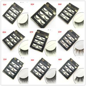 3D mink hair false eyelashes 8 Styles Handmade Beauty Thick Long Soft Mink lashes Fake Eye Lashes Eyelash Sexy X036