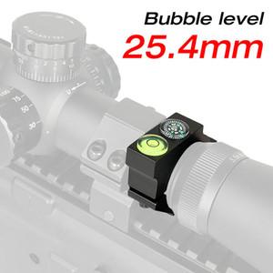 New Arrival Tactical 25.4MM Riflescope Bubble Level 6063 Aluminum Black For Airsoft Free Shipping CL24-0180