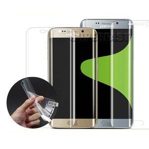 Для Samsung Примечание 10S10 S8 край ТПУ протектор экрана пластик анти-взрыв пленка для Samsung S7 край пластиковое стекло нет пакета