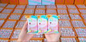Marka Yeni Gelenler OMO Beyaz Artı Sabun Mix Renk Artı Beş Ağartılmış Beyaz Cilt 100% Gluta Gökkuşağı Sabun ücretsiz kargo DHL 60301