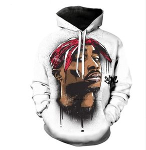 2017 LMS2017.8.30 Tupac 3D Print Design Funny 2pac Casual New Crewneck Hoodies Womens Mens Size Plus Mjxlx