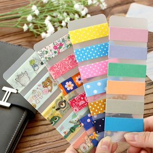 10pcs lot Sticky Tape Accessories Matte PVC Washi Tapes Organizer Ruler Stationery Tools Wrap Band Winding Tool Tape Dispenser