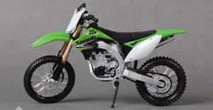 Maisto Diecast liga DIY Monte Motorcycle Toy Model, Kawasaki KX 450F, escala 1:12, ornamento do Xmas Kid Presente do menino, Coleção, Decoração
