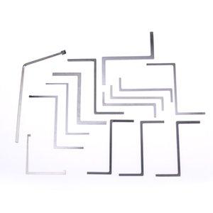 HUK 13 Stück Spannschlüssel und Drehwerkzeuge Set Profi-Schlosser-Tool-Set