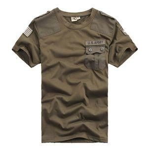 Мужские футболки повседневная Конфедерации армии США 101-й воздушно-десантной дивизии 100% хлопок футболки военный тактический комфорт мужской футболки тройники