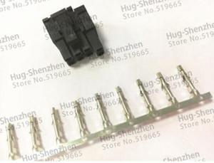 30X GPX ATX / EPS PCI-E 4.2mm 5557 pin (6 + 2) Pin 6 + pin maschio Connettore di alimentazione Custodia guscio in plastica con perno terminale 800pcs 5557