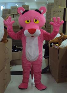 Brand New Custume fait mascotte taille adulte mascotte panthère rose panthère rose