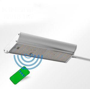 1450LM Controle Remoto 70LED Sensor de Movimento Solar Lâmpada Luz Ao Ar Livre Jardim Rua Estrada Lâmpada de Parede Holofote