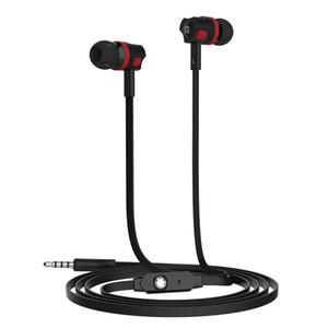 NEW! Langsdom JM26 Super Bass Earphone Music Control Hi-Fi Metal earphone with Mic for iphone Xiaomi mobile phones 50pcs lot