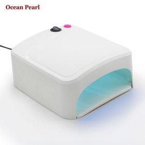 Eller Ve Ayaklar 818A Uygun Toptan-Ocean Pearl CCFL UV lamba Tırnak Kurutucu 36W UV lambası tırnak jel cila Kür Işık Nail Art Araçları