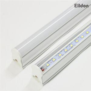 Luci tubi T5 LED 4ft 18-22W 2100LM integrato AC85-265V PF0.95 96LEDs 2835SMD 5000K 5500K lampadine fluorescenti diretto dalla fabbrica della Cina